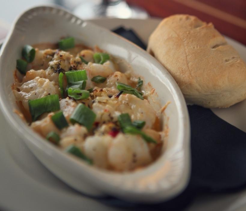 Small Plate Special: Shrimp & Scallop Scampi