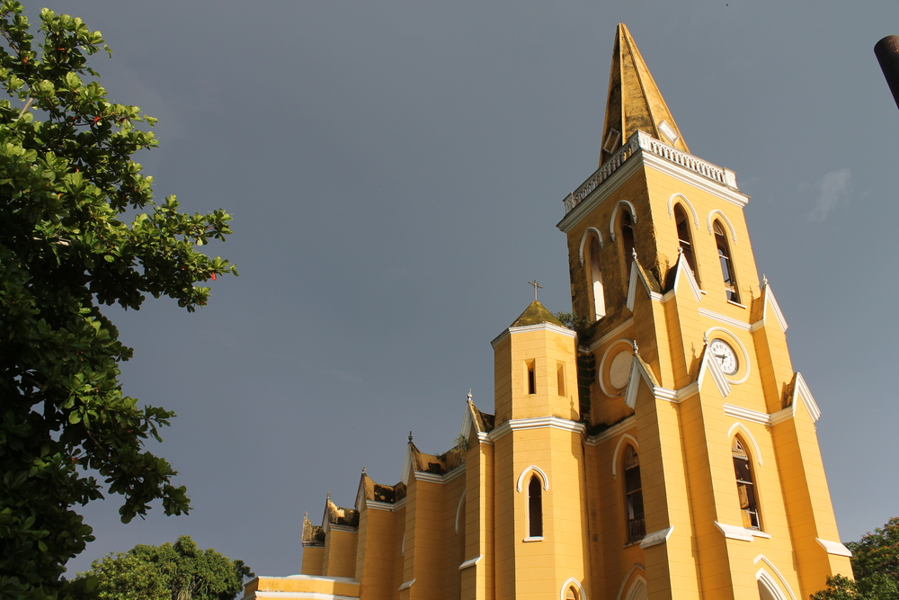 Gothic Church at Ek Nakan