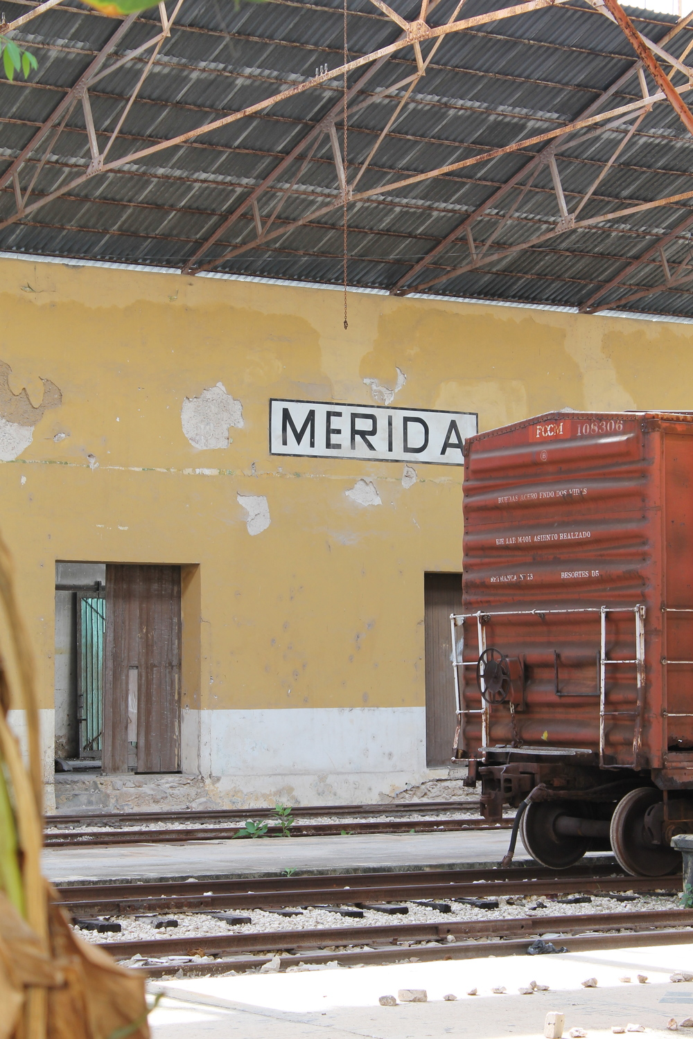 Abandoned Merida Train Station