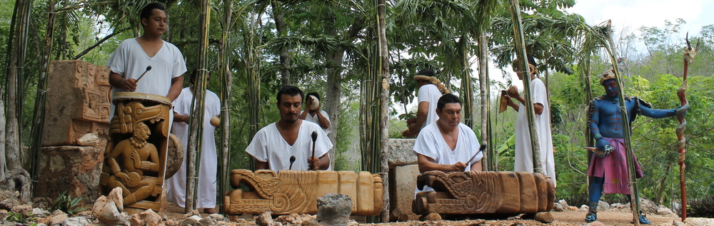 The band at the Choco Story - A Mayan and Chocolate Experience not to be missed.