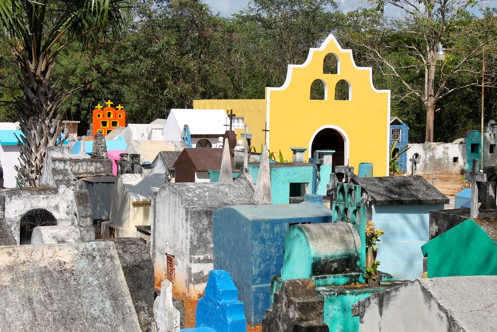 Cemetery at Chumayel