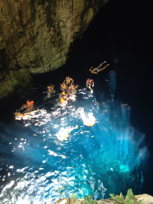 The magical hidden cenote near Mayapan