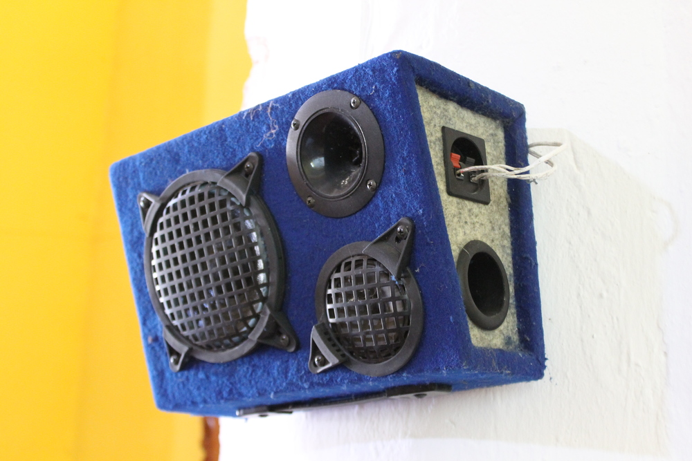 To get the message out to those who suffer from hearing loss, these quality speakers (automotive) are a creative solution