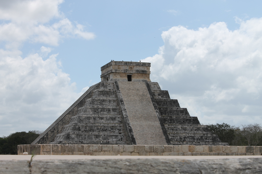 The classic shot of El Castillo