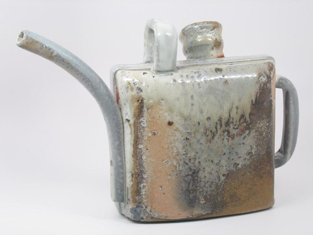 Watering Can 2 - 14%22x4%22x9 3:4%22 - Porcelain with Bloated Shale - Side 1.JPG