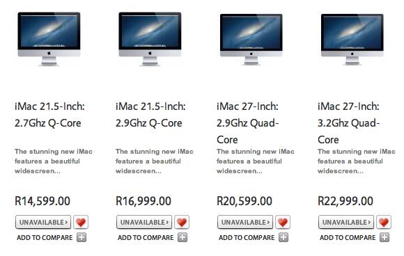 iMac Supply Shortage iMac