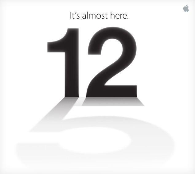 Apple iPhone 5 Media Event