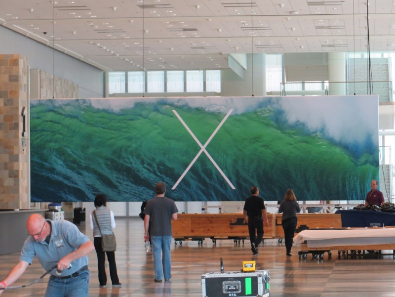 Mac OS X 10.9, WWDC
