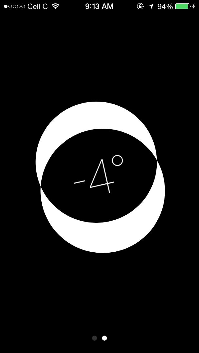 iOS 7, Compass