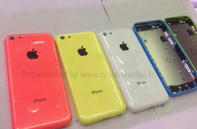 Low cost iPhone, Plastic iPhone