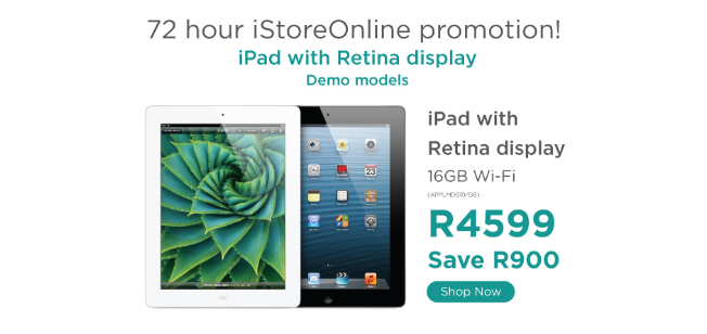 iStore, iPad