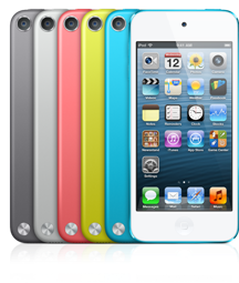 iPod Touch with Space Grey option