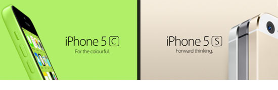 Vodacom, iPhone 5s, iPhone 5c