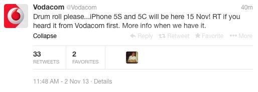Vodacom iPhone