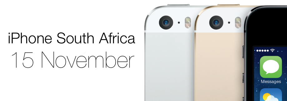 iPhone 5s release date south Africa, iPhone 5c release date south Africa