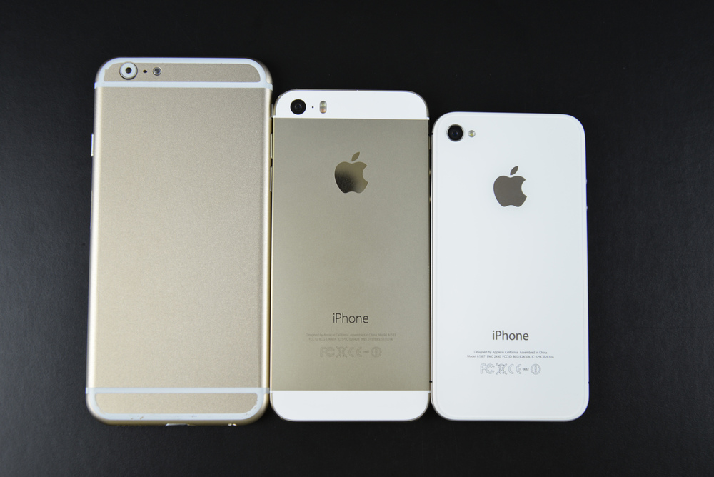 iPhone 6 Mock Up, iPhone 5s, iPhone 4s