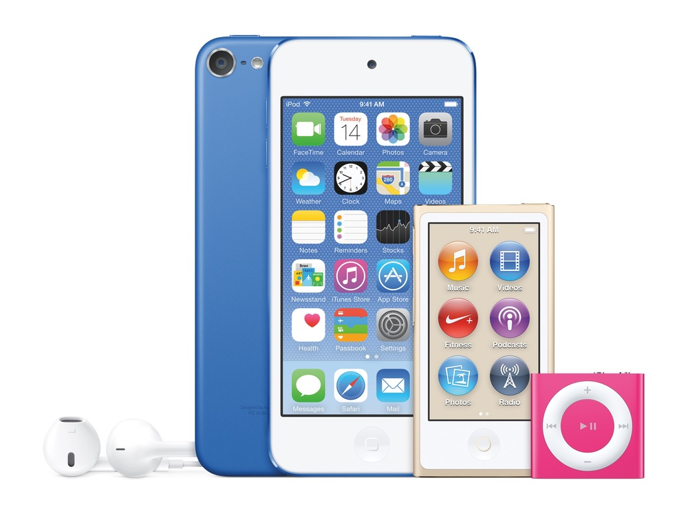 Apple Introduces The Best iPod Touch Yet iPod Touch iPod Shuffle iPod Nano iPod