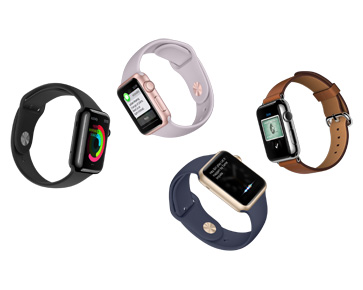 Apple Introduces watchOS 2 with Native Apps and New Gold & Rose Gold Aluminum Apple Watch Sport Models Smart Watch