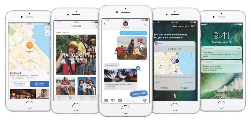 Apple Previews iOS 10 iOS