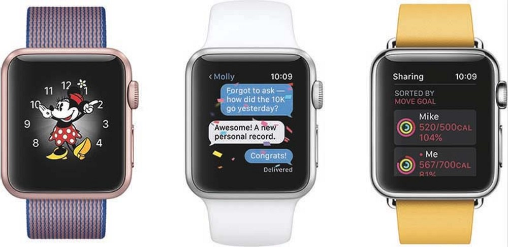 Apple Previews watchOS 3 WatchOS