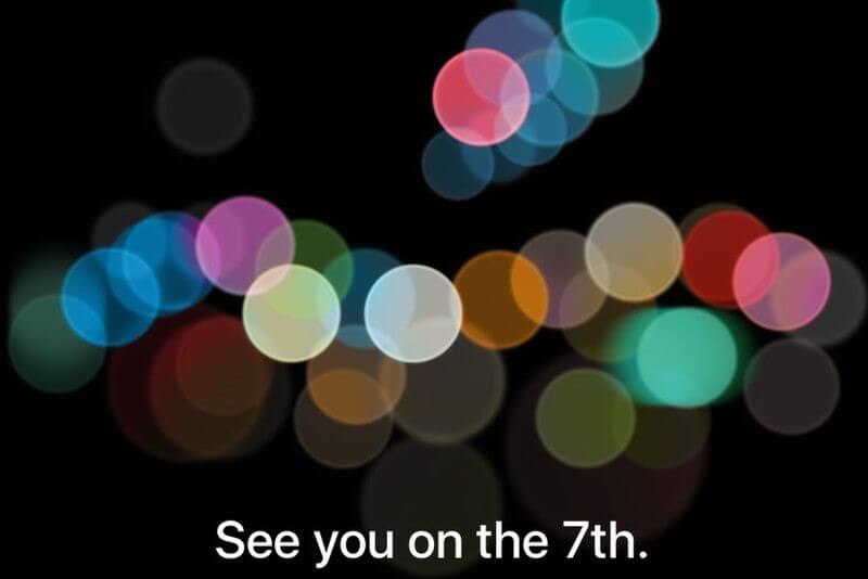 iphone 7 launch event