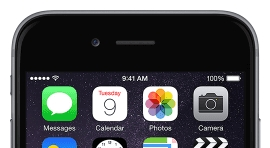 iPhone 6 displaying 9:41am