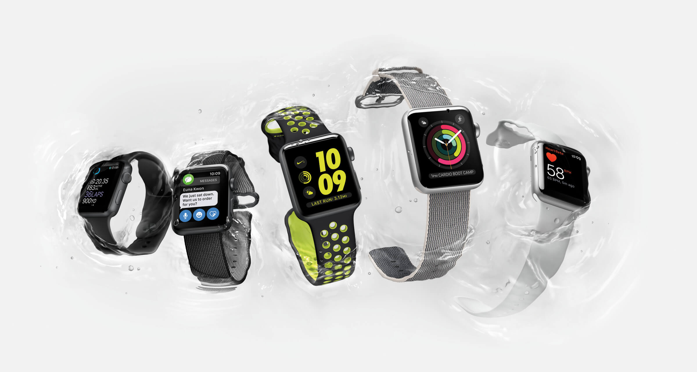 Apple Announce Apple Watch Series 2 Smart Watch