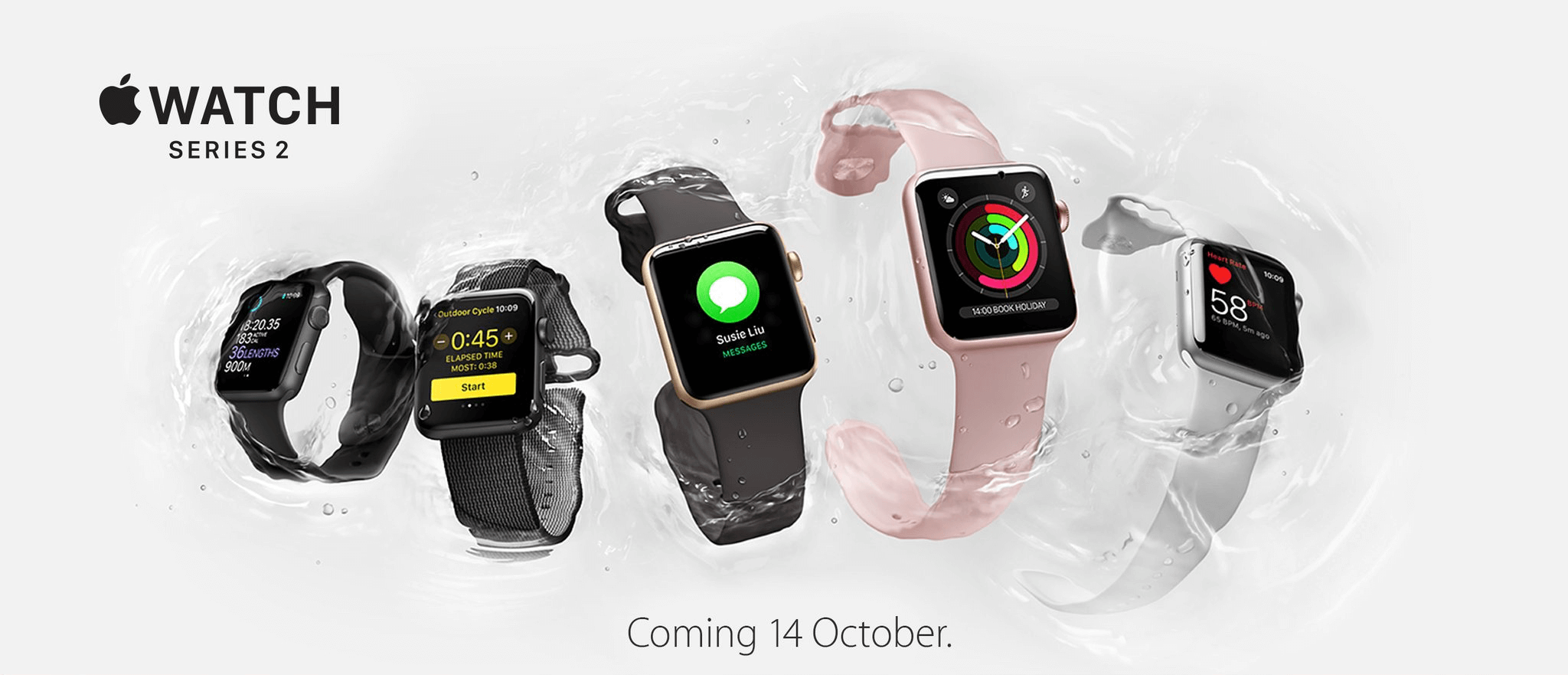 Apple Watch series 2 available in South Africa on the 14 October Smart Watch
