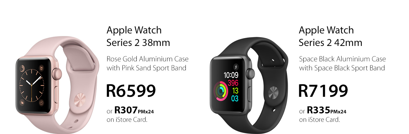 Apple Watch Series 2 - Now Available at iStore Smart Watch Gadget Shop