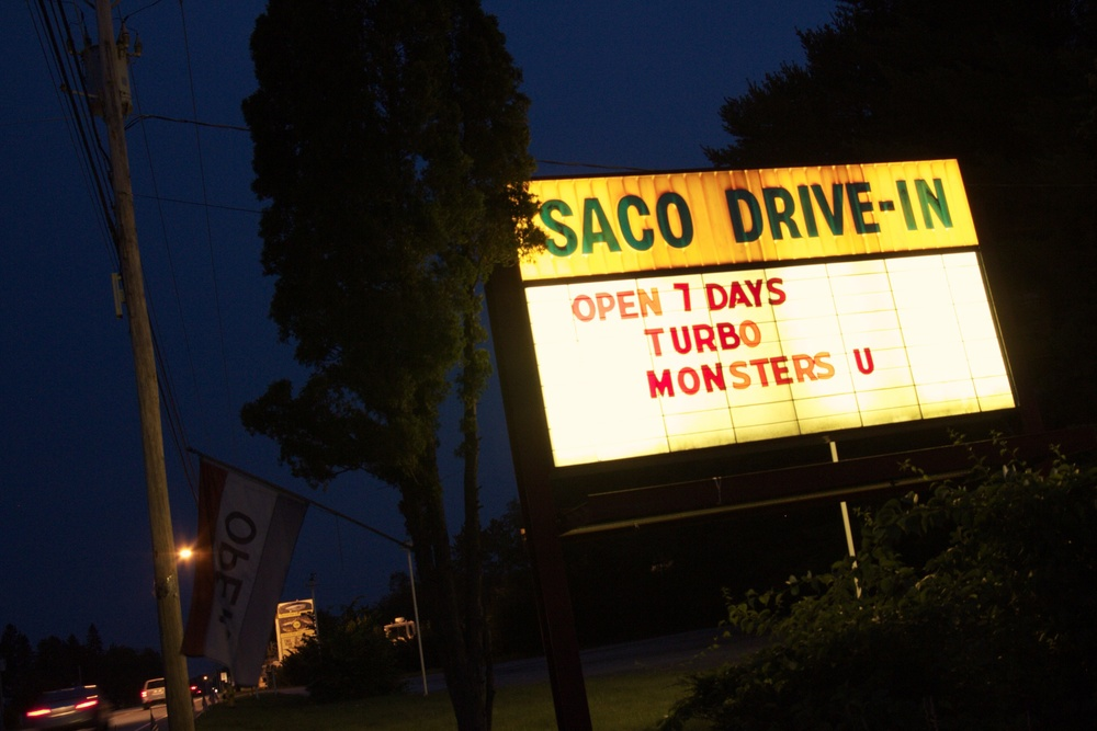 The summer of 2013 was a matter of life or death for Maine's  Saco Drive-In . The major motion picture producers set fall as a deadline, after which they would no longer distribute blockbusters on 35mm film. Message to drive-ins: Convert to digital projection or die. Cost: $40,000.