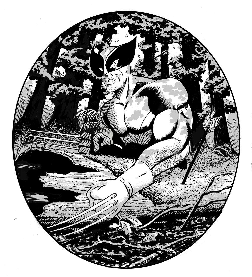 Wolverine - Fan Art, 2018