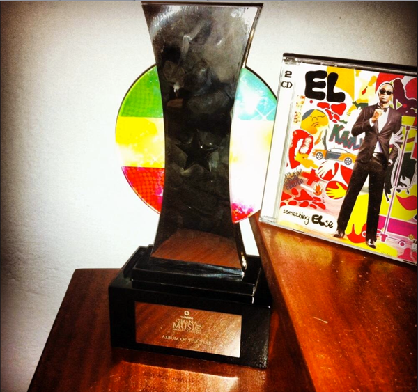 "The VGMA award for ""Album of The Year"""