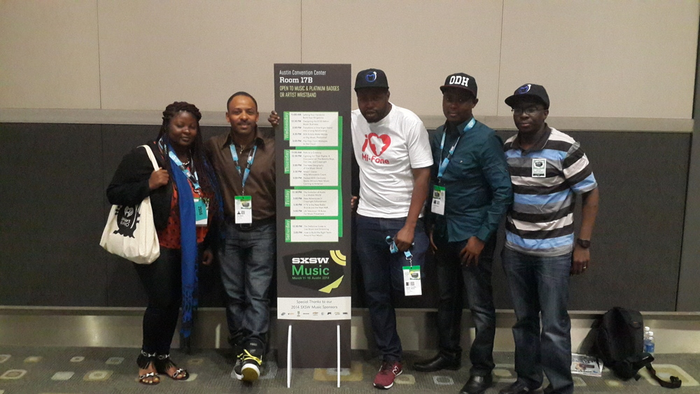 Packed with Electronic beats - Africa's next Music Coming to America SXSW Music Conf. 2014 panelists