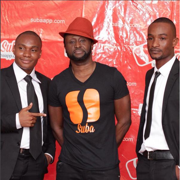 Nelson Klutse, Reggie Rockstone + Eric Hackman of Suba Photo App