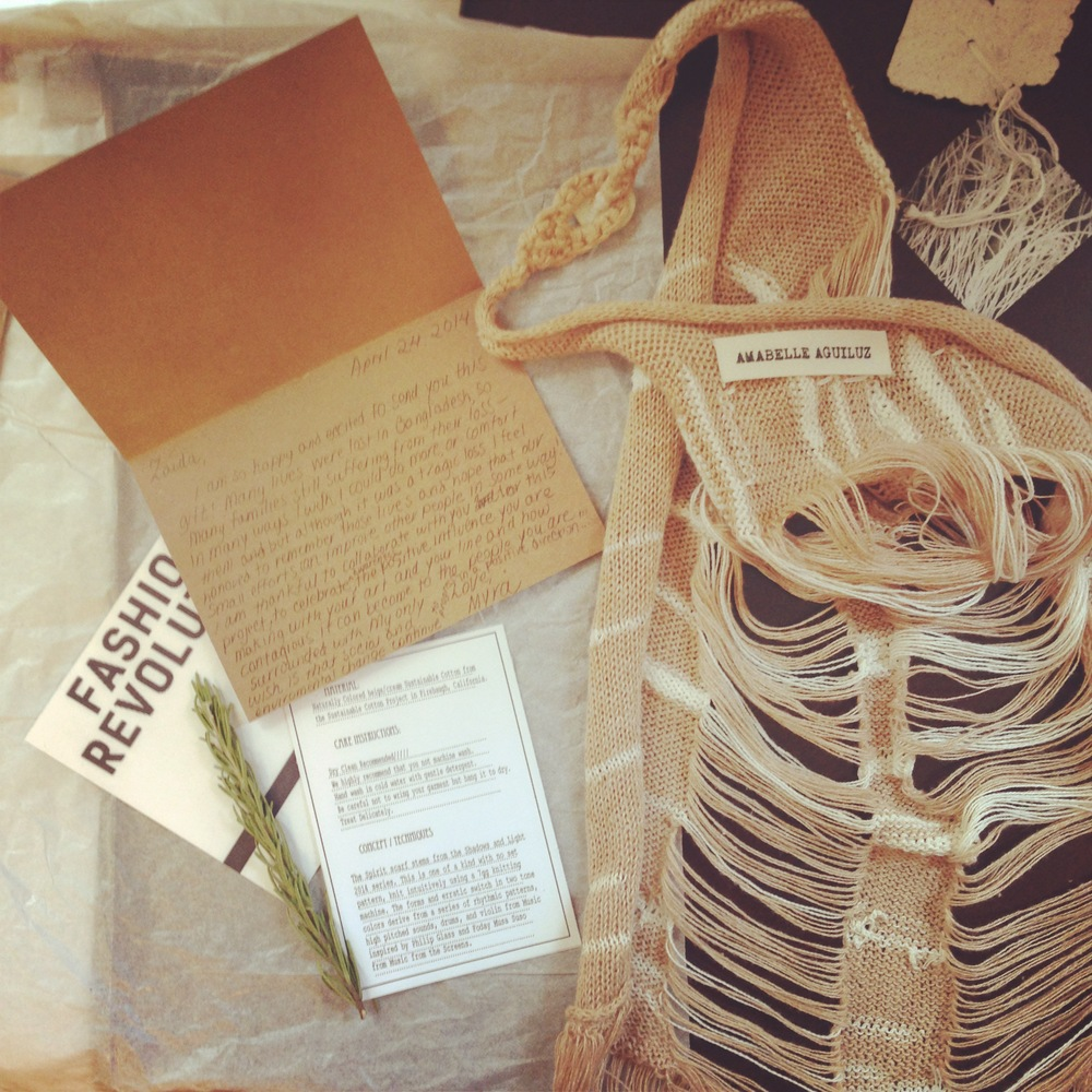 Thoughtful PACKAGING by Amabelle Aguiluz... So many goodies! Photo by Zaida Adriana Goveo Balmaseda