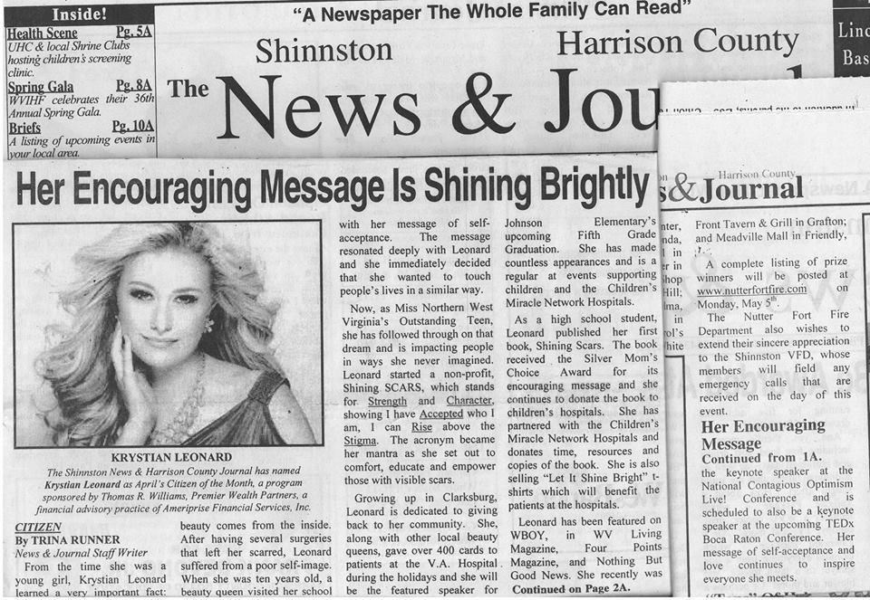 Citizen of the Month...The Shinnston News & Harrison County Journal