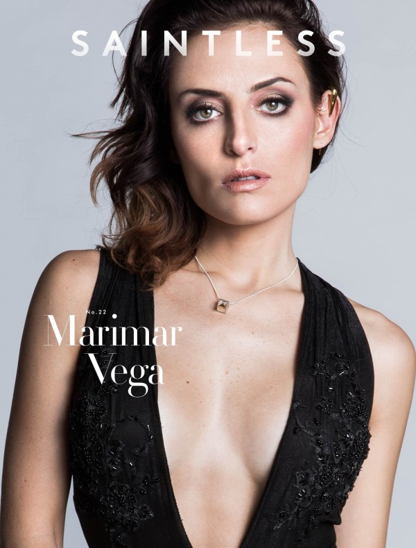 Saintless Magazine, actress Marimar Vega, May 2015