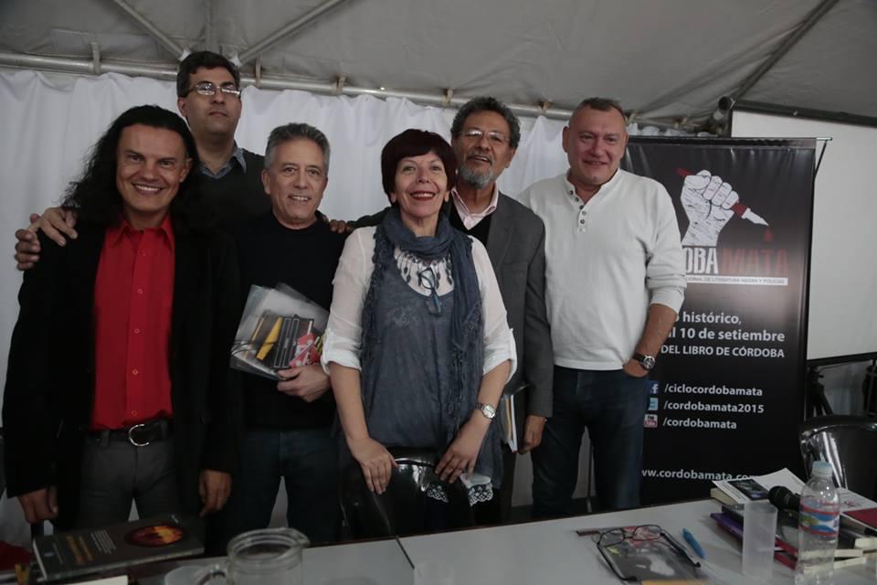Elmer Mendoza, Gustavo Forero, Néstor Ponce, Miriam Pino, Osvaldo Reyes y Fernando López|