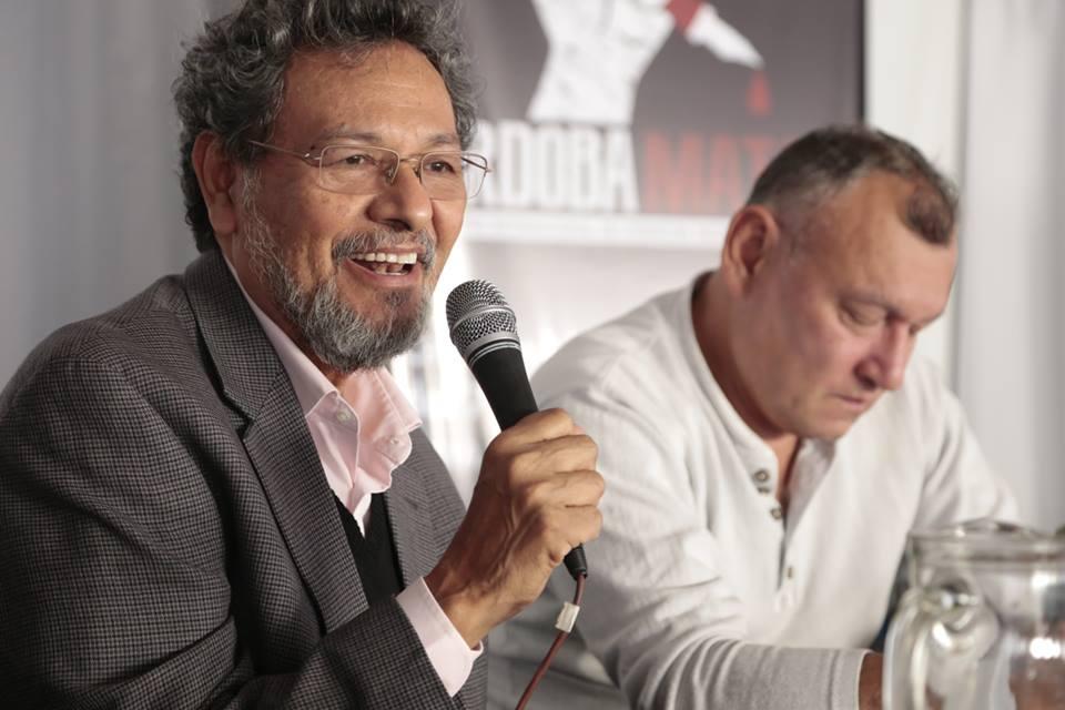 Elmer Mendoza en el Córdoba Mata 2015