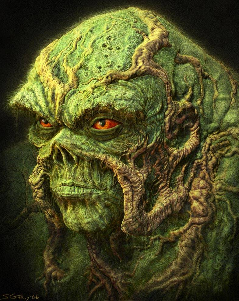I'm willing to bet Swamp Thing  preferred to keep his leeching private as well.