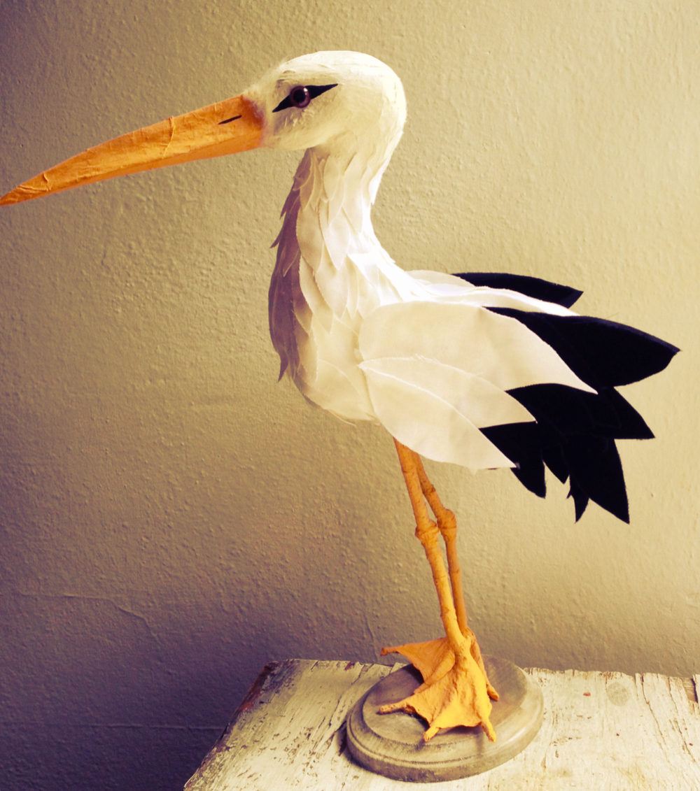 Artificial decorative stork for baby showers.jpg