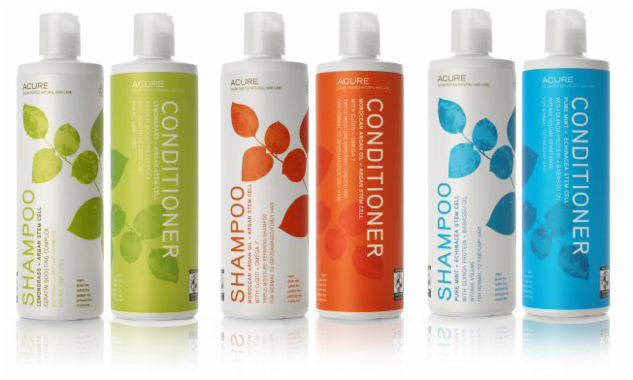 Acure hair products