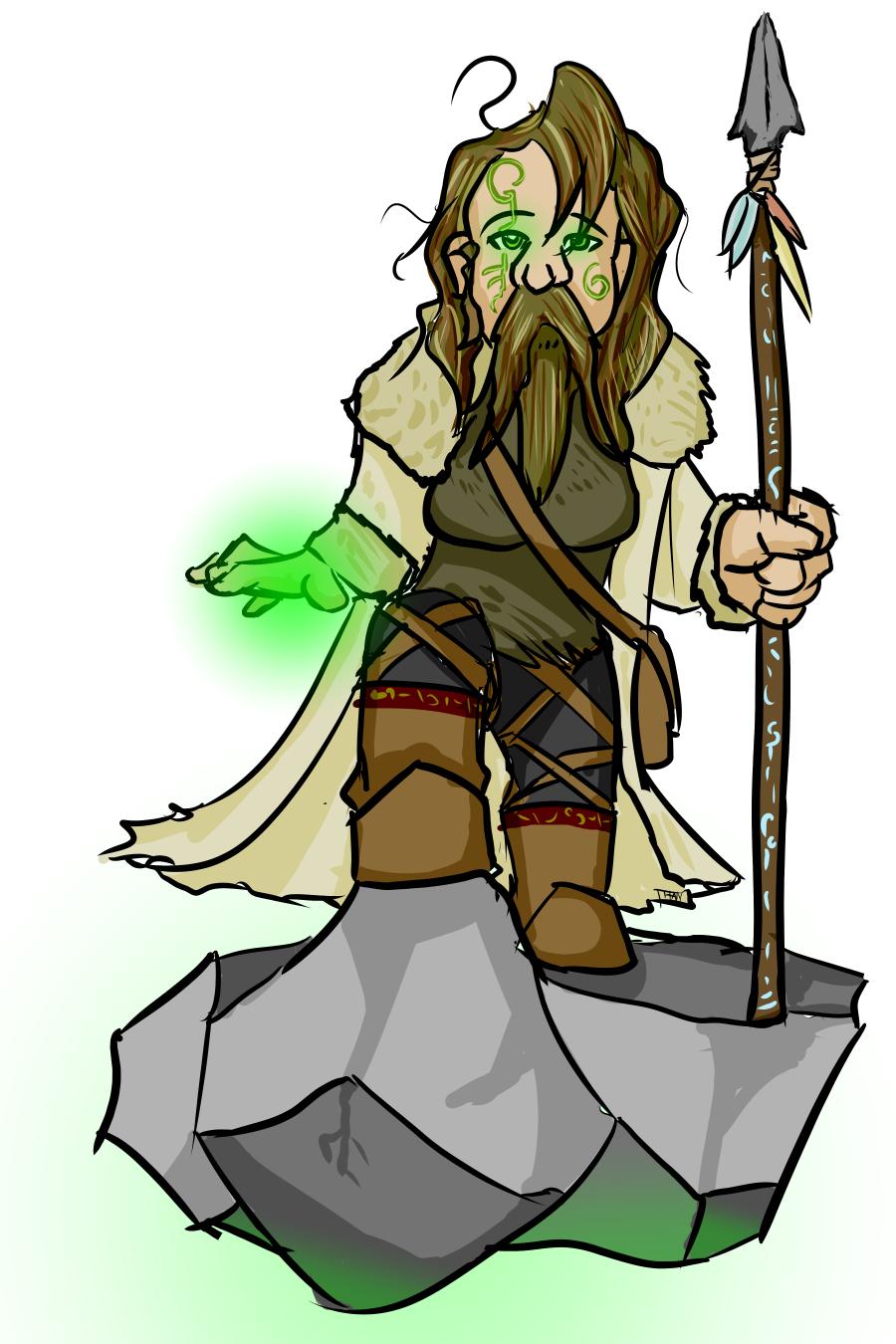 Dwarf Druid