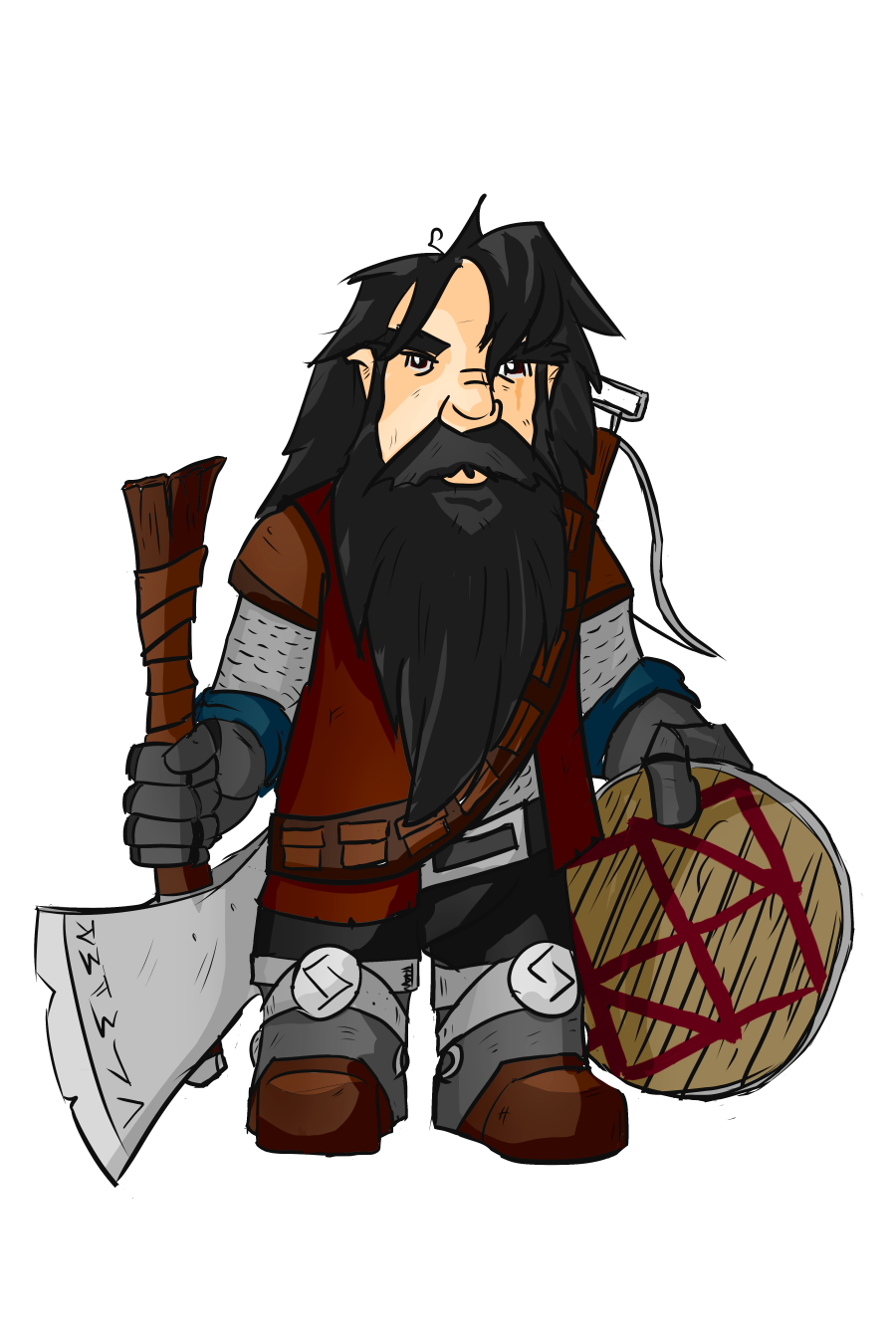 Dwarf Fighter