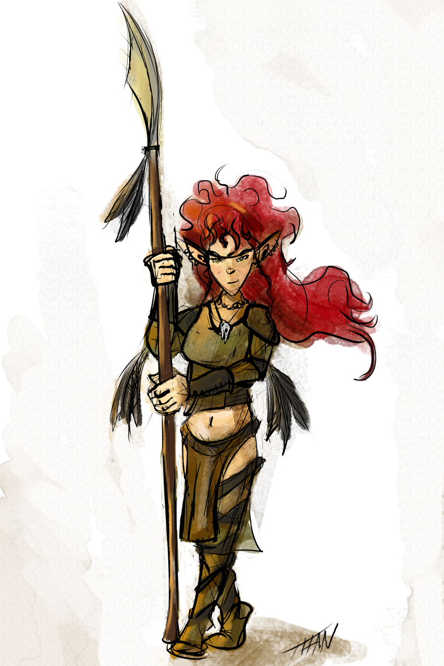 A Saysyn Barbarian