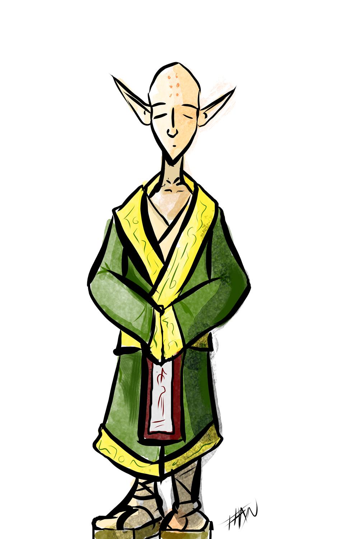 Elf Monk