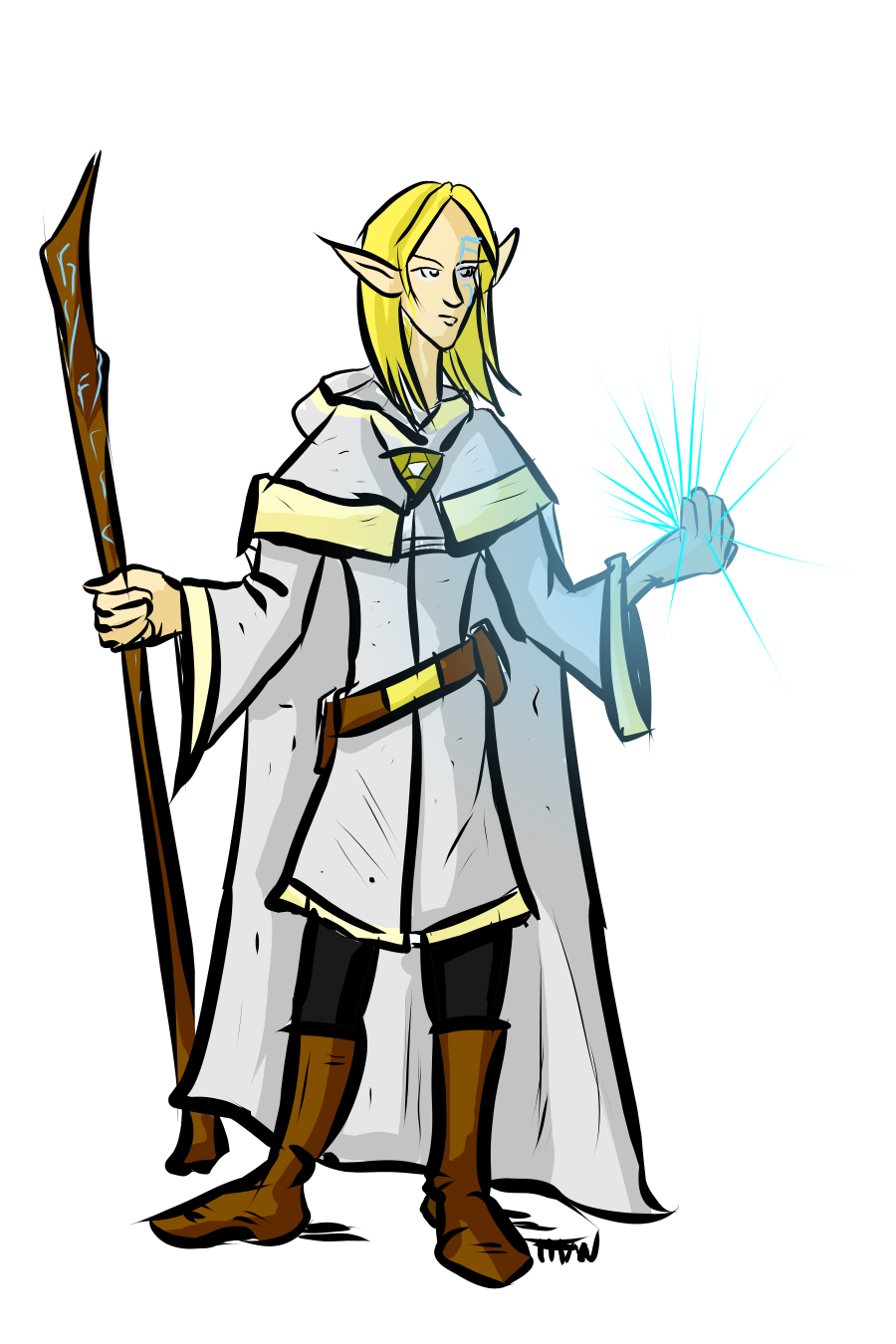 Elf Wizard