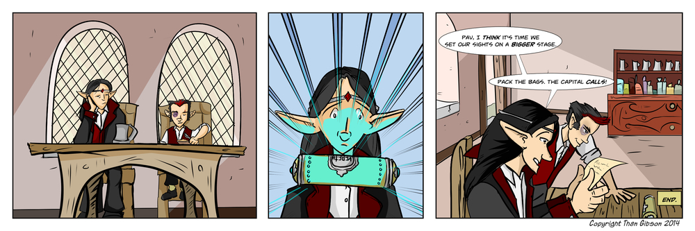 A Tough Crowd in Toryavik - Strip 8 - Click Image for larger view!
