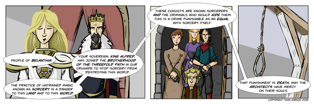 CHRONICLE: A CHRONICLE OF THIEVES - CHAPTER 2, STRIP 9