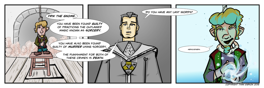 A Chronicle of Thieves - Chapter 2, Strip 11